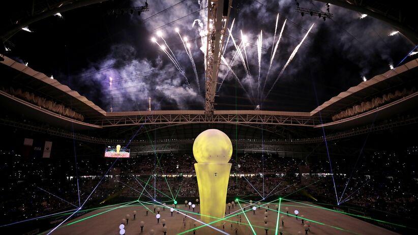 MŚ 2022: Otwarto pierwszy stadion w Katarze. Efektowna inauguracja [FOTO+WIDEO]