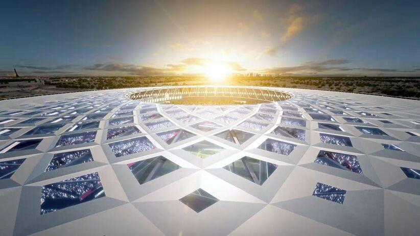 Projekt nowego stadionu w Katarze zaprezentowany. Robi wrażenie! [ZDJĘCIA]