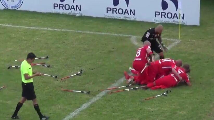 Polacy w ćwierćfinale MŚ w amp futbolu