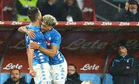 Arkadiusz Milik zdobył gola przeciwko Lazio