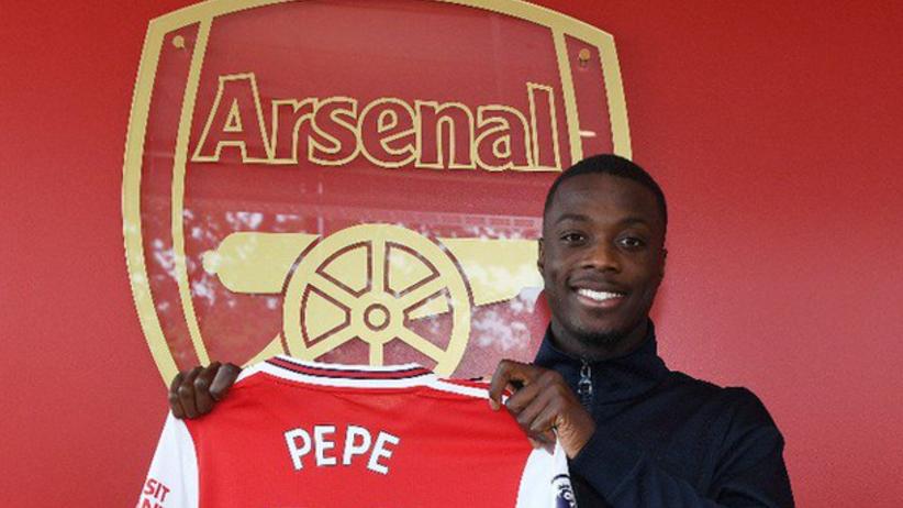 Nicolas Pepe piłkarzem Arsenalu