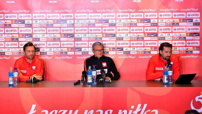 Adam Nawałka na konferencji prasowej