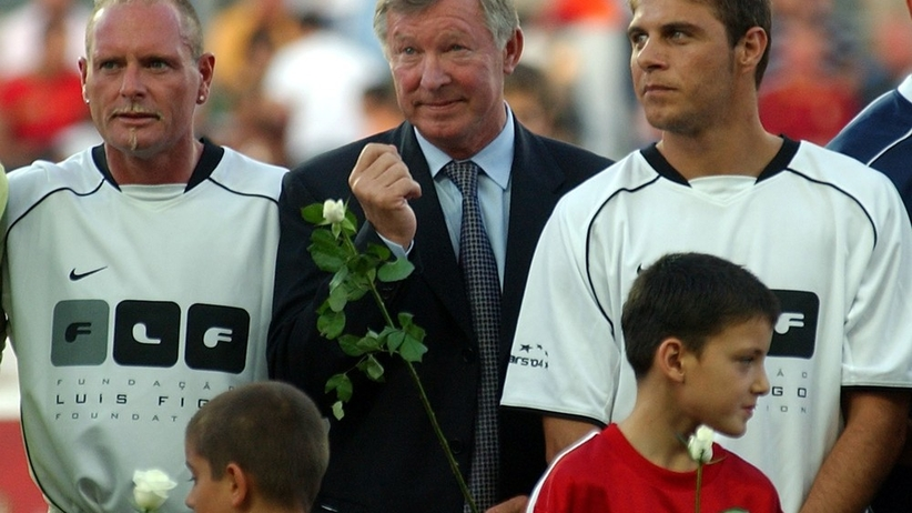 Paul Gascoigne, sir Alex Ferguson