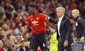 Paul Pogba i Jose Mourinho