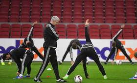 Legia Warszawa, trening