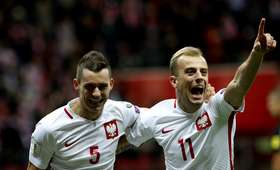 Krzysztof Mączyński i Kamil Grosicki