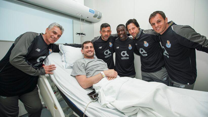 Piłkarze FC Porto odwiedzili Casillasa