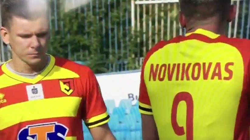 piłkarze Jagielloni Białystok
