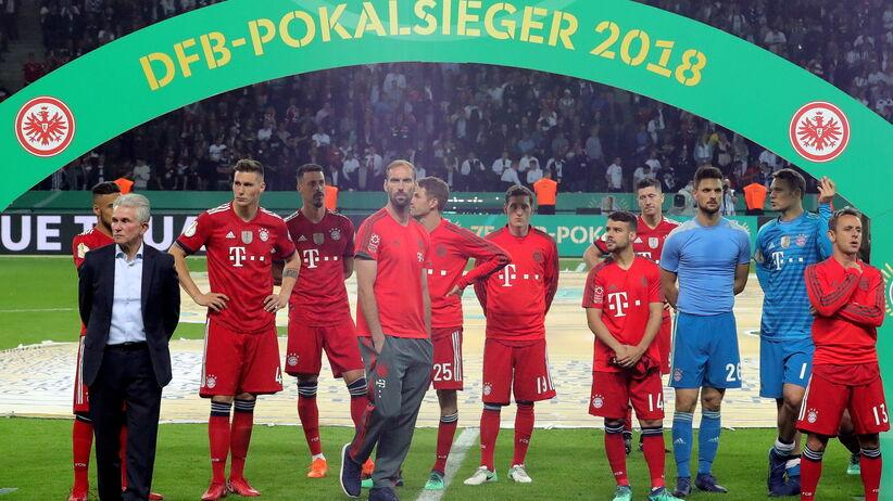 gracze Bayernu Monachum po finale Pucharu Niemiec