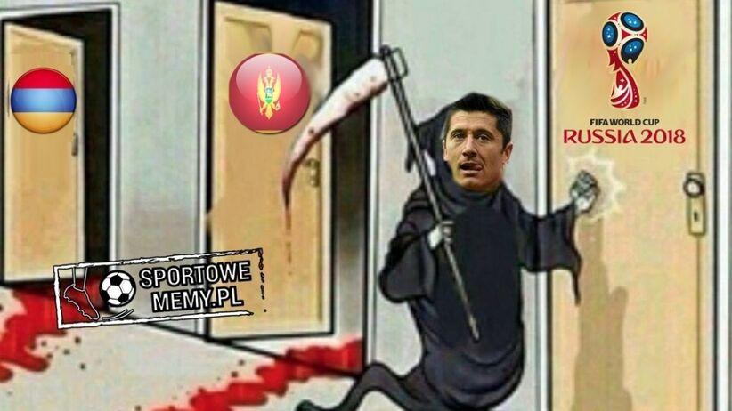 MEMY po meczu Polska - Czarnogóra: Lewy bohater, Hajto się żegna, a Peszko...
