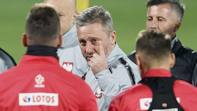 Jerzy Brzęczek czeka na pierwsze zwycięstwo prowadzonej przez siebie kadry