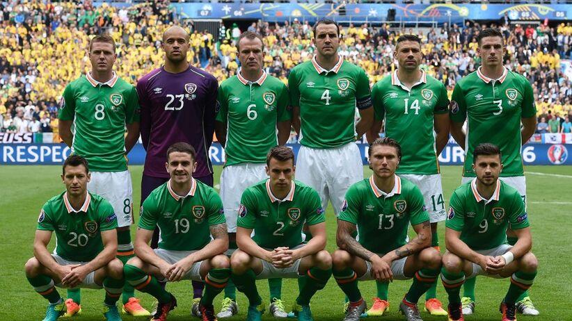 Skład Irlandii na mecz z Polską