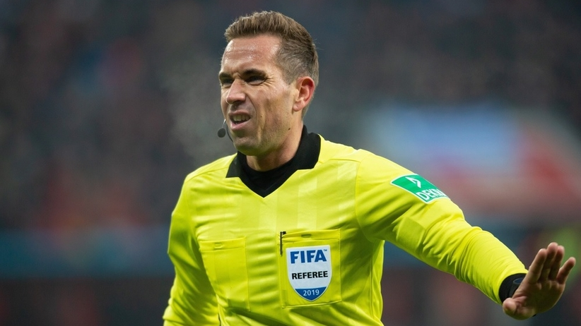 Tobias Stieler sędzią meczu Polska - Izrael