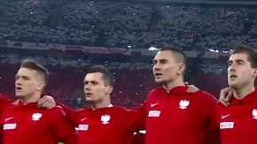 Hymn Polski w meczu Polska - Korea