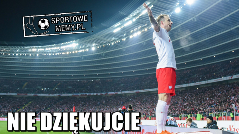 Kamil Grosicki w meczu z Koreą Płd.