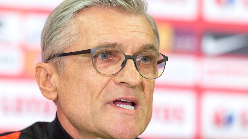 Adam Nawałka na konferencji przed meczem Polska - Korea Płd.