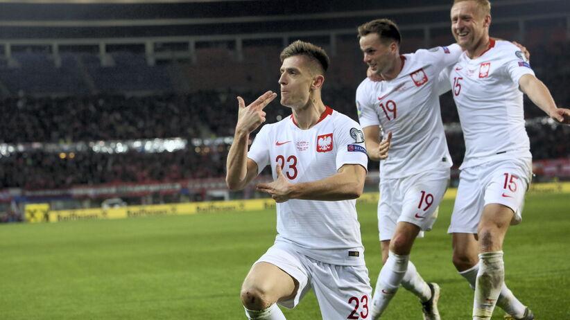 Krzysztof Piątek zagra od początku w meczu Polska - Łotwa