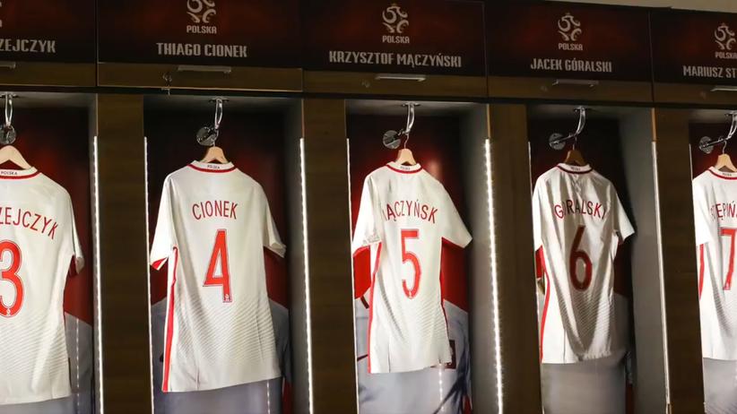 Polska - Meksyk: Zobacz szatnię reprezentacji Polski przed meczem