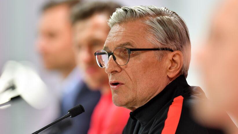Adam Nawałka na konferencji przed meczem Polska - Nigeria