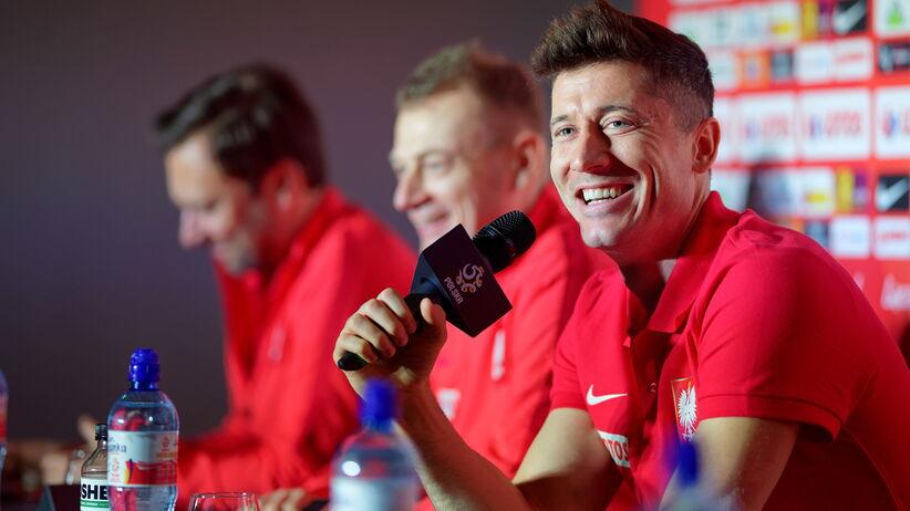 Robert Lewandowski na konferencji przed meczem z Nigerią