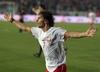 Euzebiusz Smolarek zdobył dwa gole w meczu Polska - Portugalia w 2006 r.
