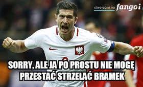 MEMY po Polska - Rumunia: Lewandowski bohaterem narodowym!