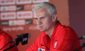 Jacek Magiera przed meczem Polska - Tahiti U20