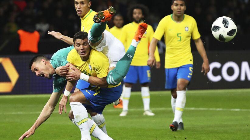 Mecz Niemcy - Brazylia