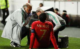 Kontuzja Cristiano Ronaldo