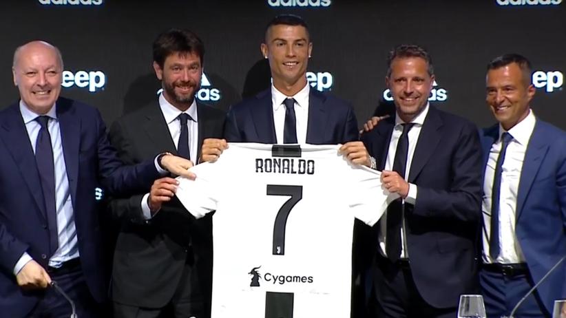 Cristiano Ronaldo zaprezentowany jako piłkarz Juventusu [ZDJĘCIA]