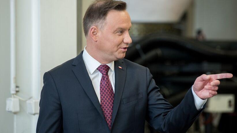 Andrzej Duda w Kowalewie Pomorskim