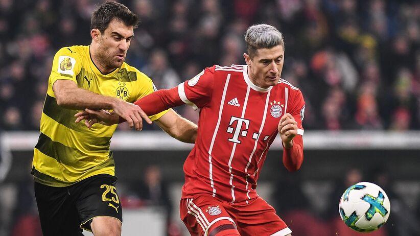 Puchar Niemiec: Bayern wyeliminował Borussię, Lewandowski bez gola