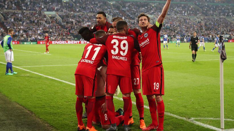 Eintracht Frankfurt w finale Pucharu Niemiec