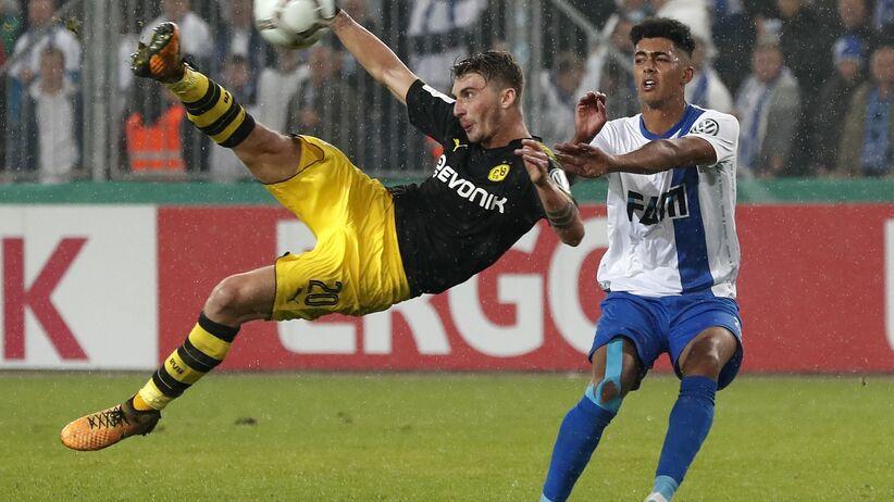 Puchar Niemiec: Pięć goli i pewny awans Borussi Dortmund