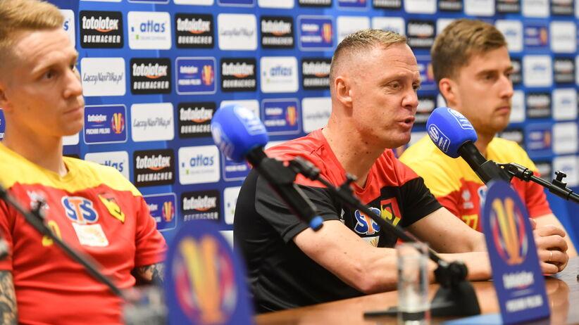 Finał Pucharu Polski: Trener Jagiellonii ujawnił, co powiedział piłkarzom po meczu