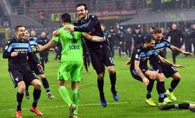 Lazio Rzym półfinalistą Pucharu Włoch