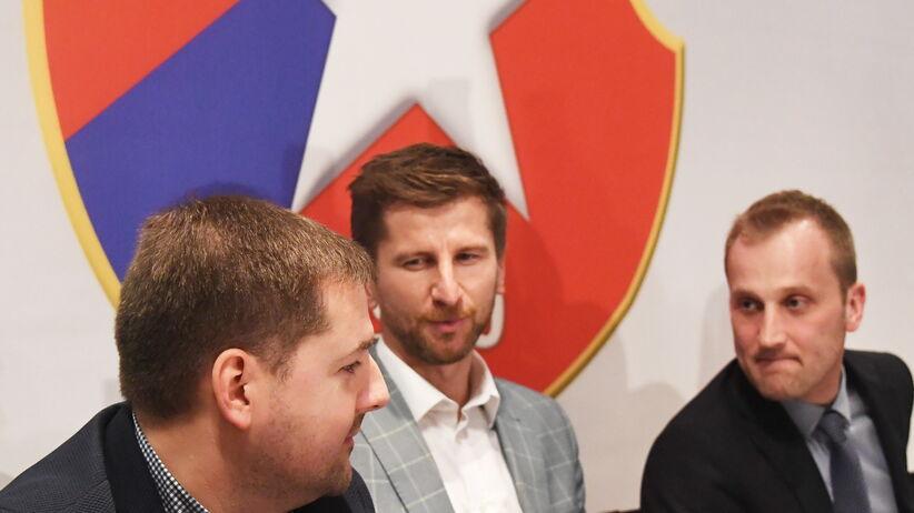 Rafał Wisłocki podjął pierwszą decyzję jako prezes Wisły Kraków. Nie obyło się bez wpadki [FOTO]