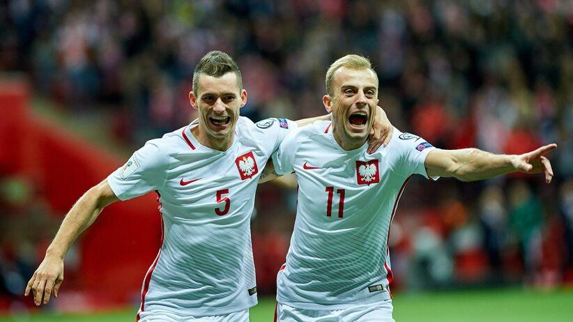 Kamil Grosicki i Krzysztof Mączyński