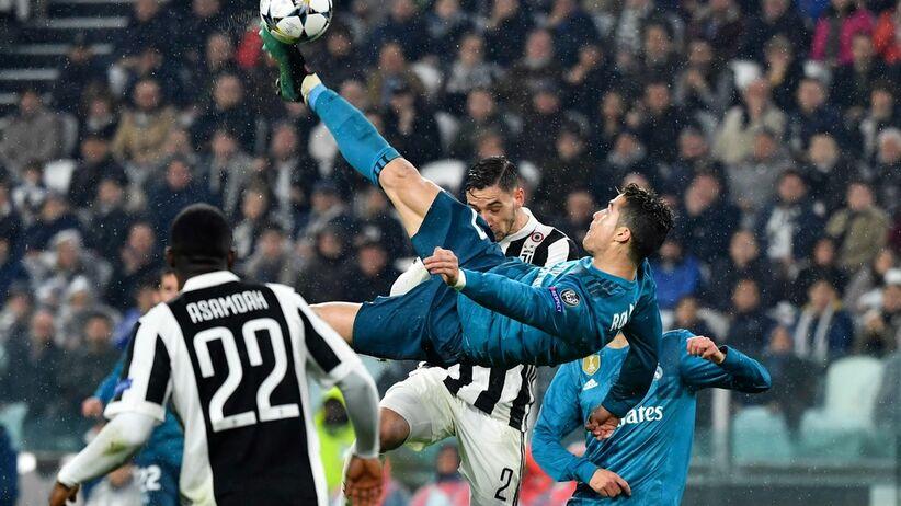 Przewrotka Ronaldo w meczu Real - Juventus