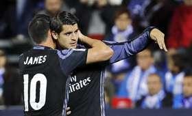 Alvaro Morata i James Rodriguez