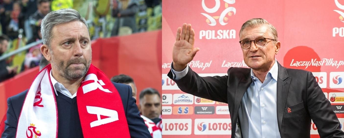 Adam Nawałka i Jerzy Brzęczek