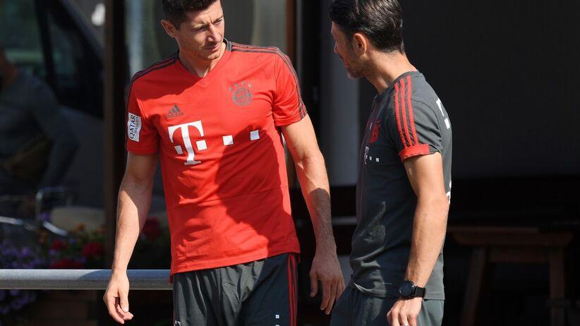 Robert Lewandowski i Niko Kovac