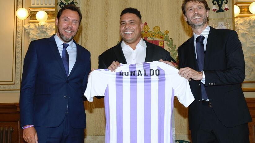 Ronaldo właścicielem Realu Valladolid