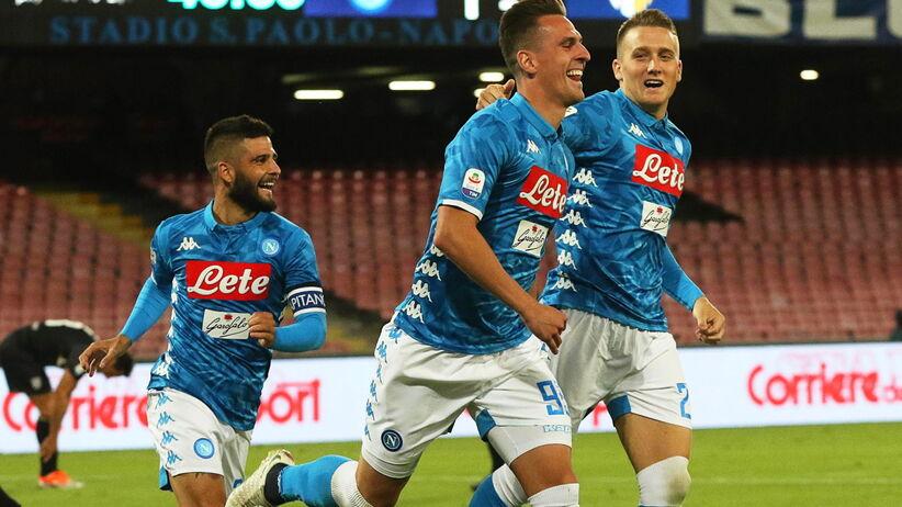 Serie A: Piątek nie przestaje strzelać, piękny gol Milika [WIDEO]