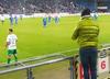 fan prowokuje Sławomira Peszkę