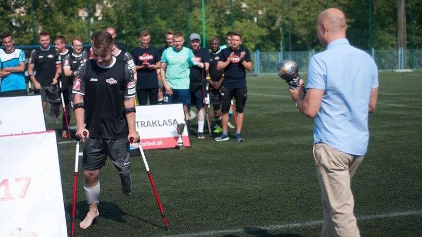 Urząd Warszawy FATALNIE potraktował niepełnosprawnego piłkarza, którego sam nominował do nagrody