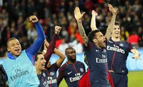 piłkarze PSG