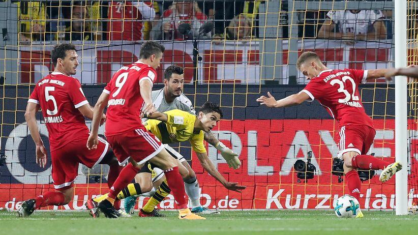 Superpuchar Niemiec: Bayern ograł Borussie w rzutach karnych. Grali Piszczek i Lewandowski