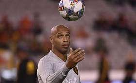 Thierry Henry zawieszony w obowiązkach w AS Monaco