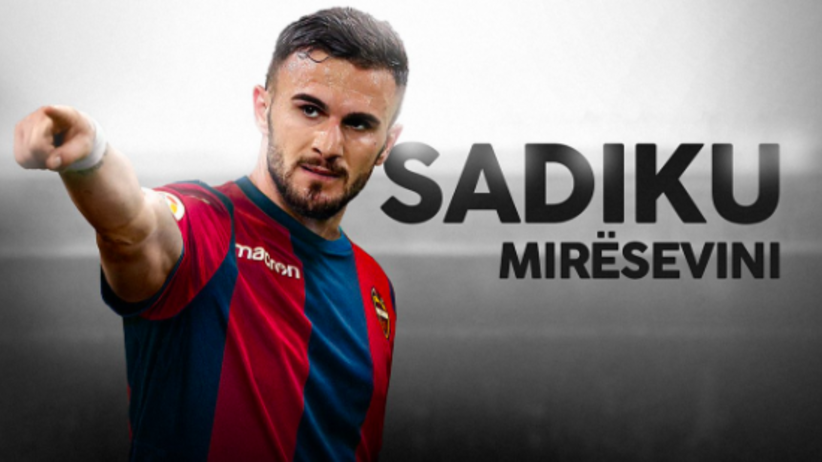 Armando Sadiku odchodzi z Legii. Zagra w hiszpańskiej La Liga